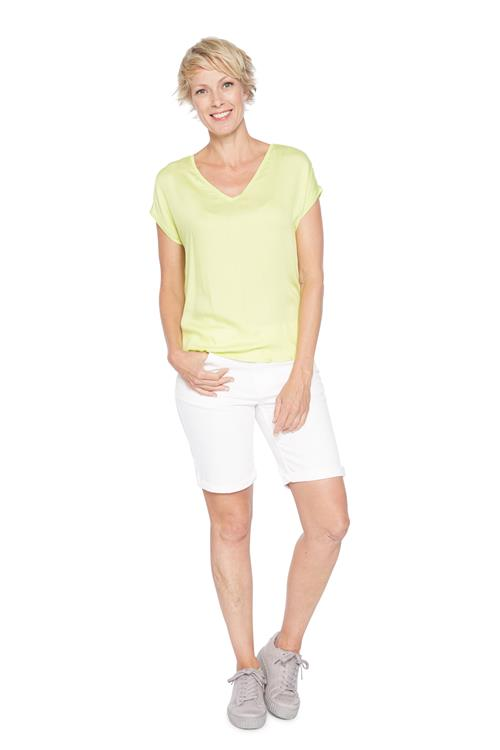 Street One Top V-hals Lime