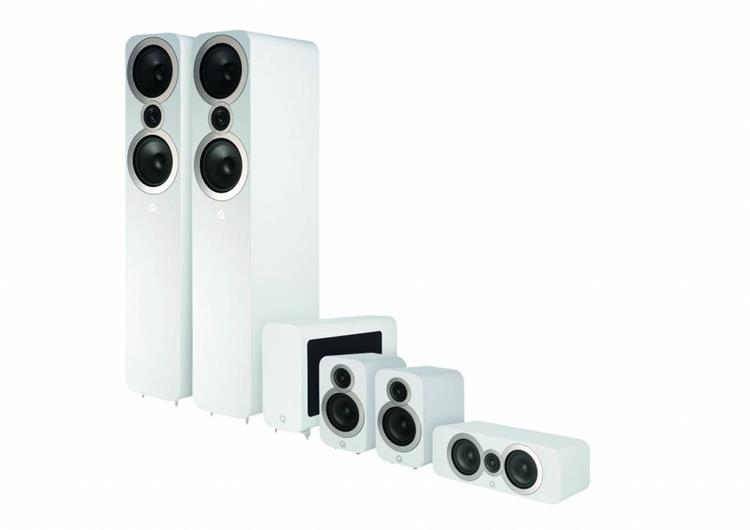 Q Acoustics 3050i Cinema-pakket Wit