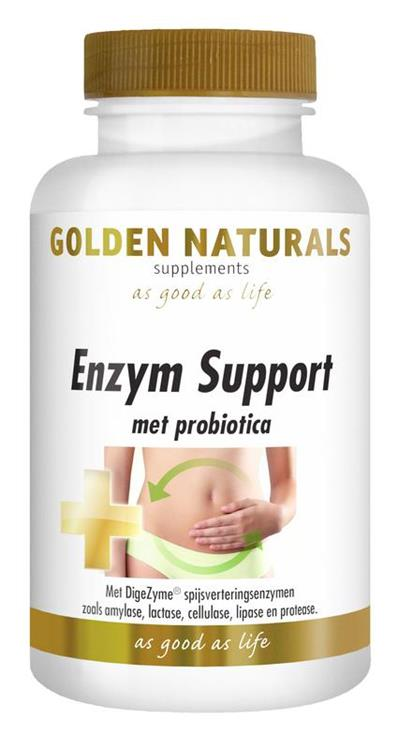 Enzym support
