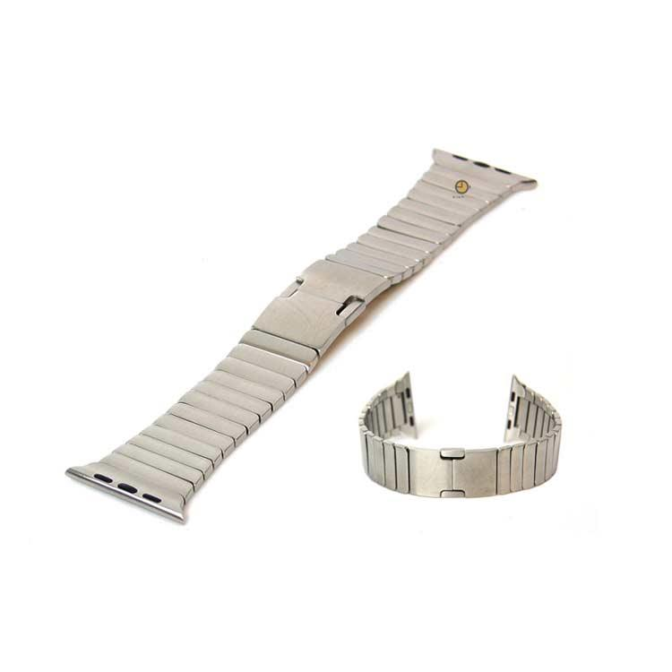 Apple watch 42mm horlogeband zilver staal