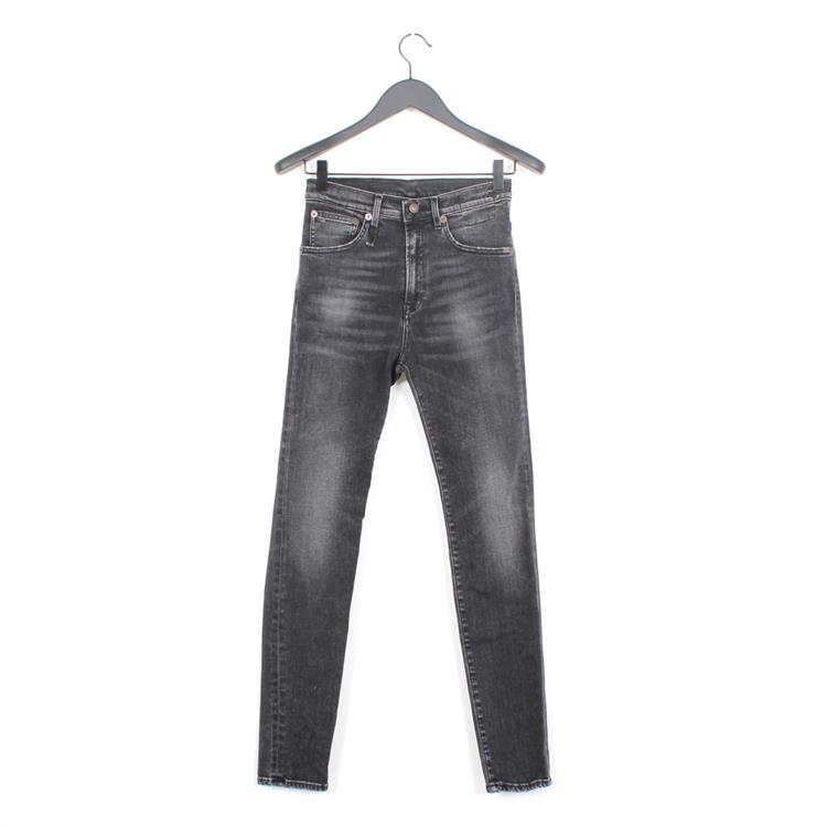 R13 high rise skinny aiden black