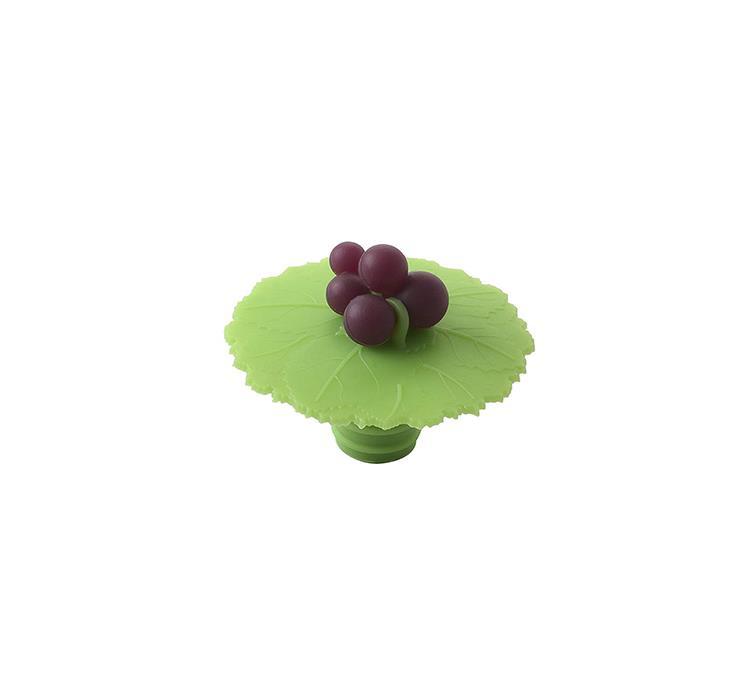 Charles Viancin flessenstop grape leaf