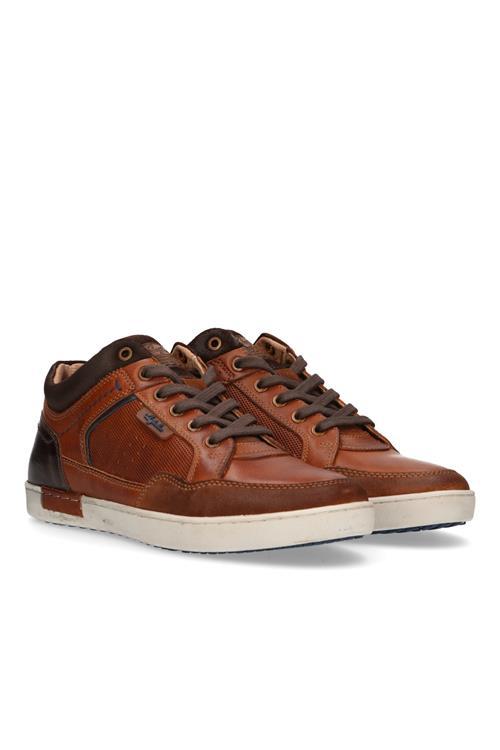 Afbeelding van Australian Footwear Antrim sneaker leer Bruin