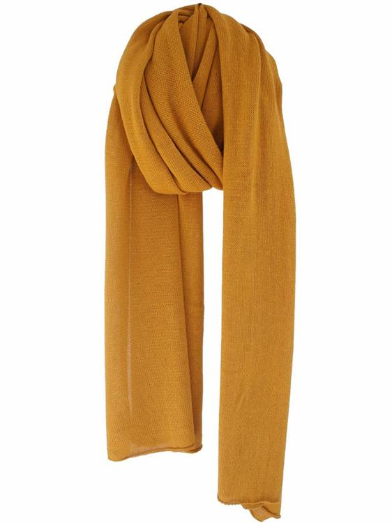 Cosy Cotton sjaal - Mustard