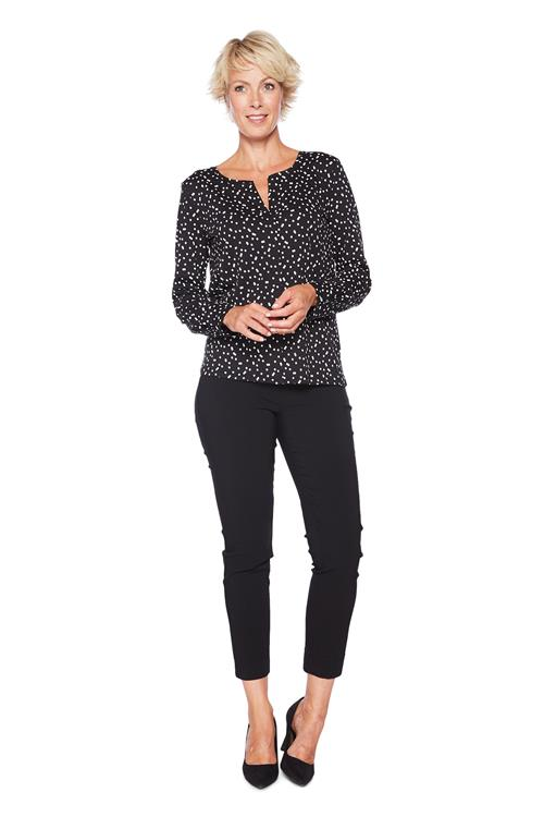 Tom Tailor Women Blouse Gestipt Zwart