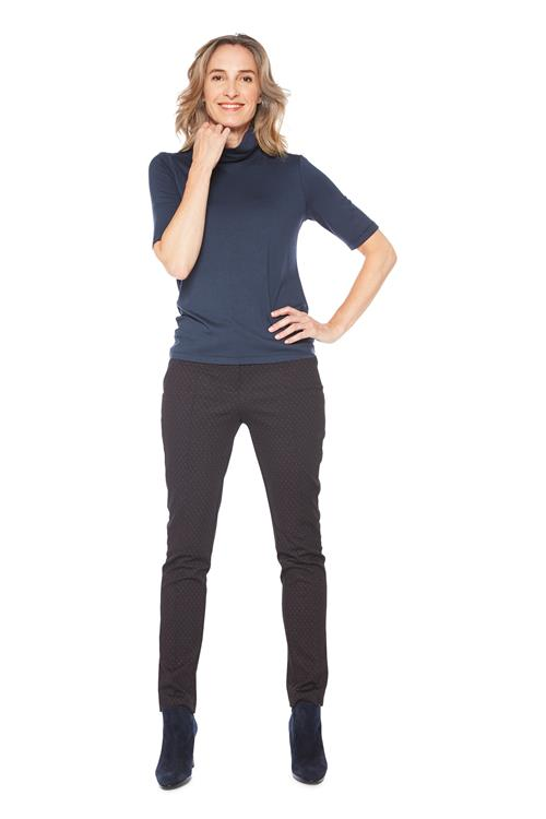 Top Col Basic Navy