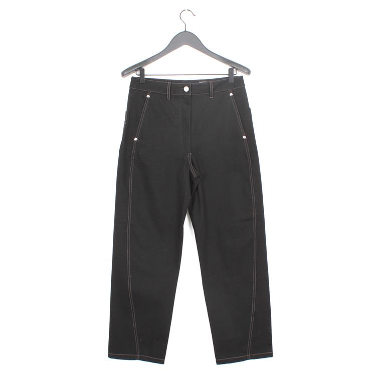 Lemaire twisted pants black