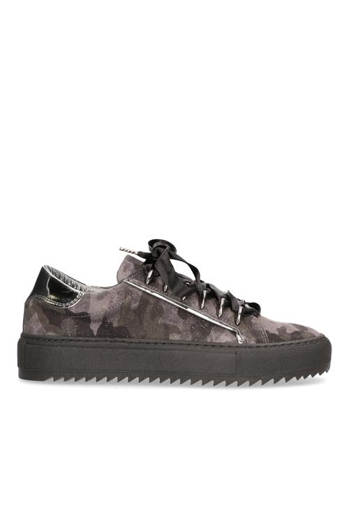 Sneaker suede camouflage