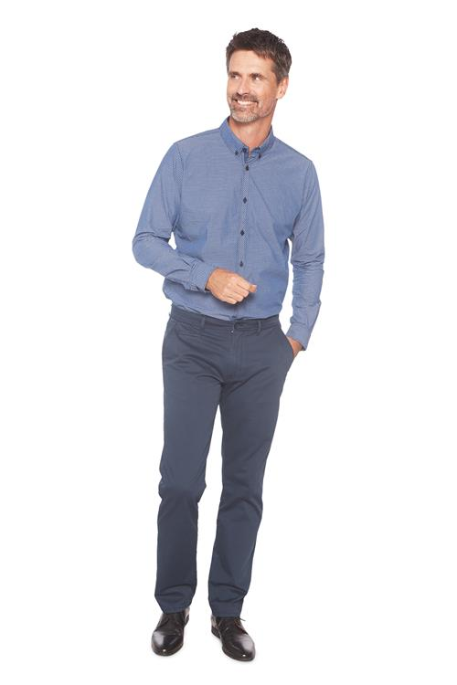 Tom Tailor Casual Overhemd Blauw