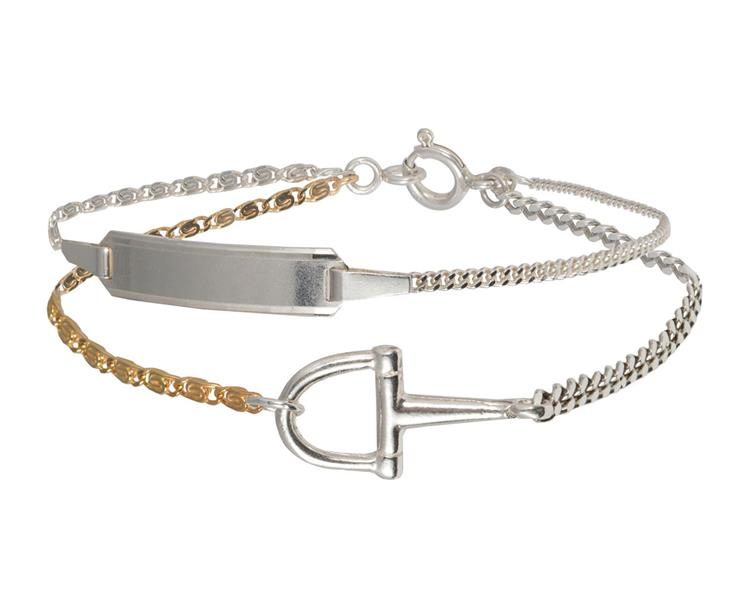 Wouters & Hendrix bracelet with buckle detail and plate