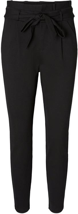 Vmeva hr loose paperbag pants black