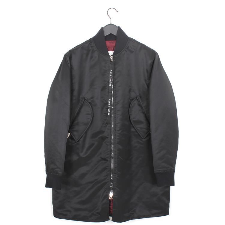 Acne Studios bomber coat black
