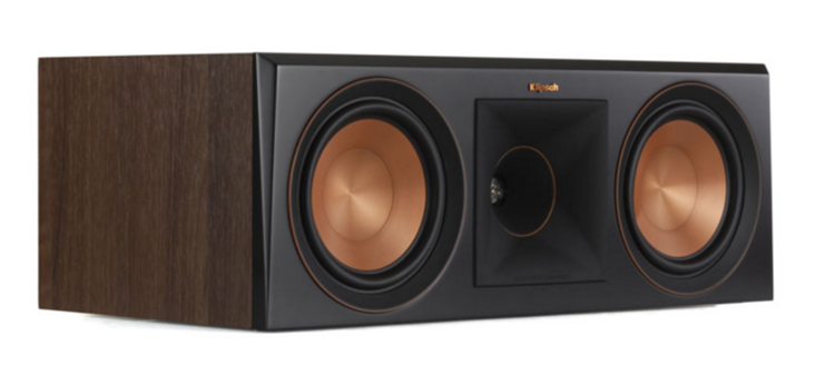 Klipsch RP-600C Center Luidspreker Walnoot