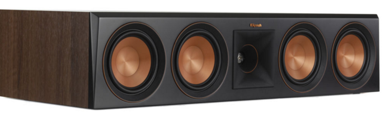 Klipsch RP-504C Center Luidspreker Walnoot