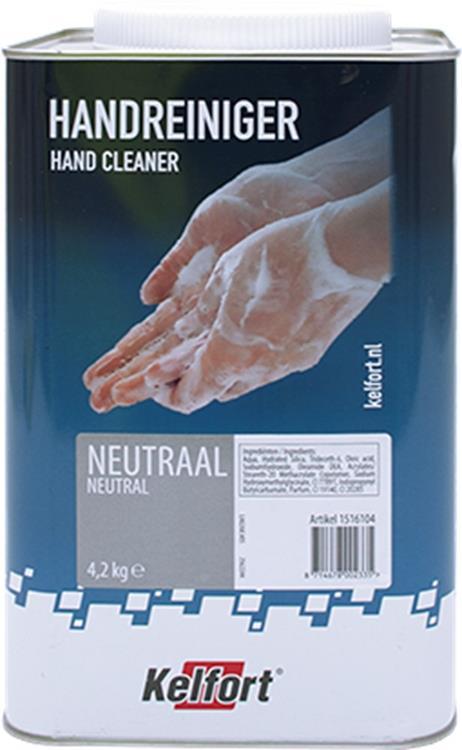 KELFORT handreiniger neutraal 4,2 kg