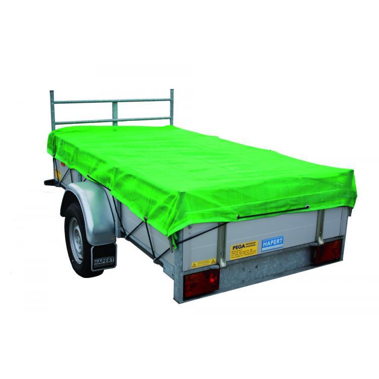 Aanhangwagennet 200 x 300 cm FIJNMAZIG groen