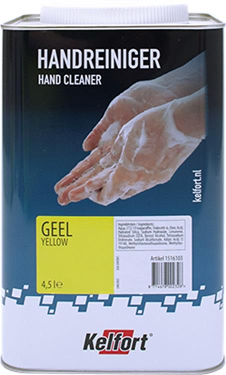 KELFORT handreiniger geel 4,5L
