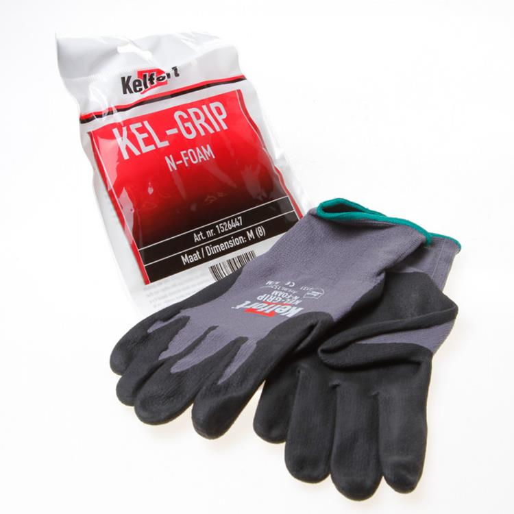 KELFORT handschoen Kel-Maxgrip n-foam L 1 paar