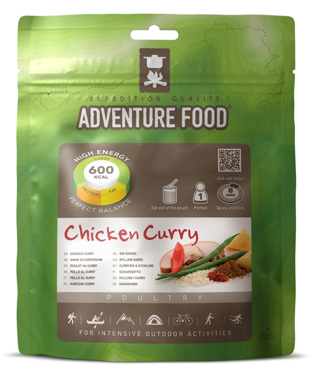 Adventure Food 1 Portion Chicken Curry Reismaaltijd