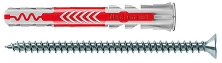 FISCHER DUOPOWER pluggen 8x65 S inclusief schroeven 25 st.