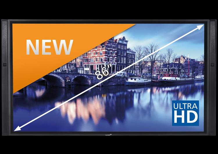 Legamaster e-Screen XTX-8600UHD, 86 inch UltraHD touch