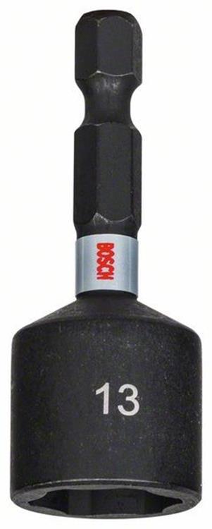 BOSCH magnetische dopbit Impact Control 1/4'' SW13