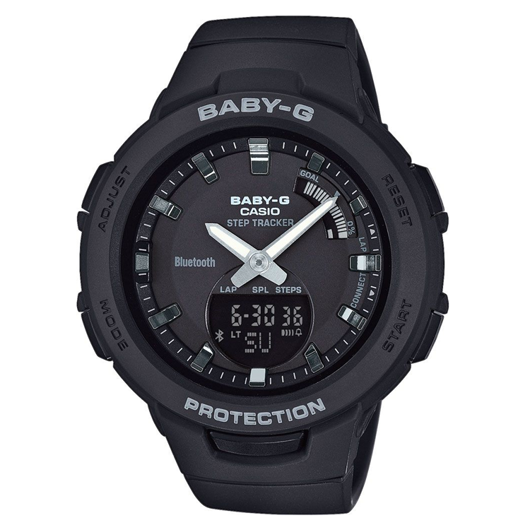 Casio BSA-B100-1AER Bluetooth Baby-G horloge