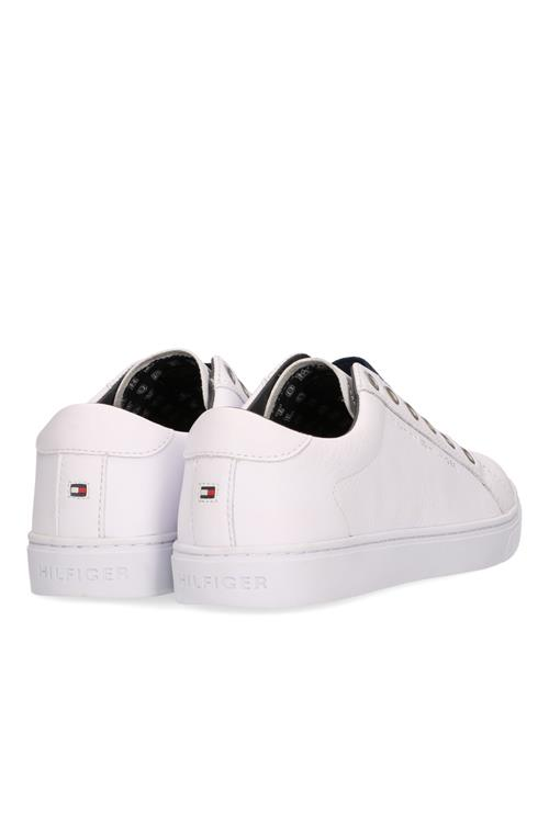 Elastic City Sneaker Leer