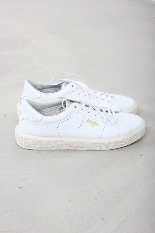 Golden Goose sneaker tennis white leather