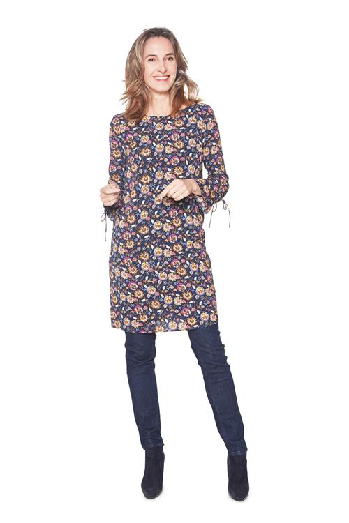 Tom Tailor Women Jurk Flower Navy