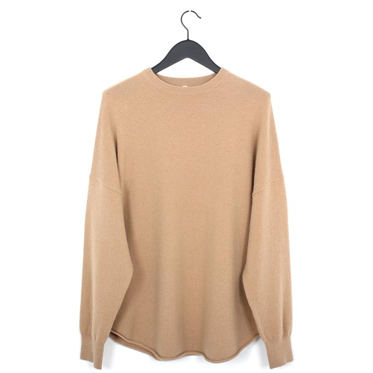 Extreme Cashmere n°53 crew hop camel