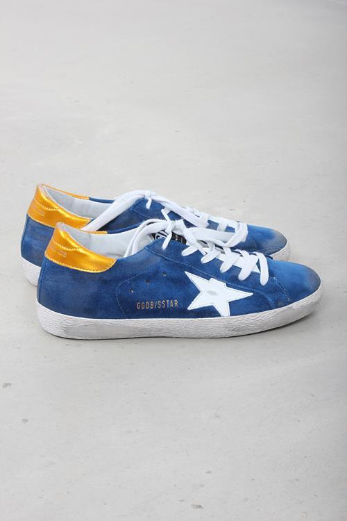 Golden Goose sneaker superstar blue