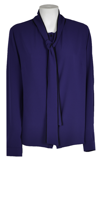Karin Blouse - Royal Blue