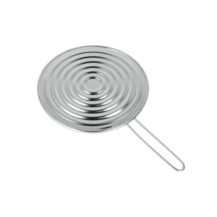 Metaltex sudderplaat met handvat - 19 cm
