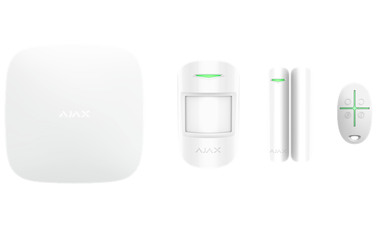 Ajax Hubkit, Wit, GSM/IP