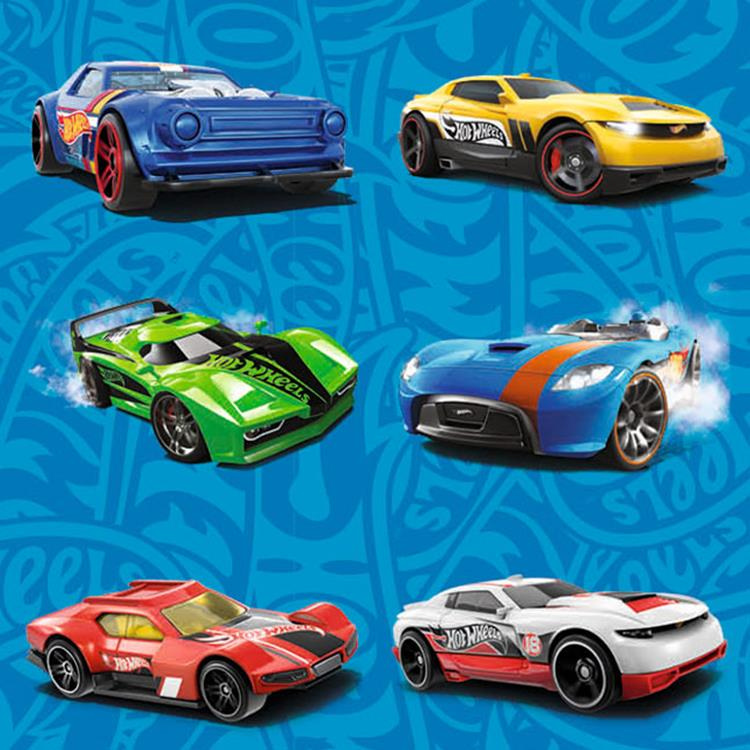 Klein pak beloningssticker Hot Wheels