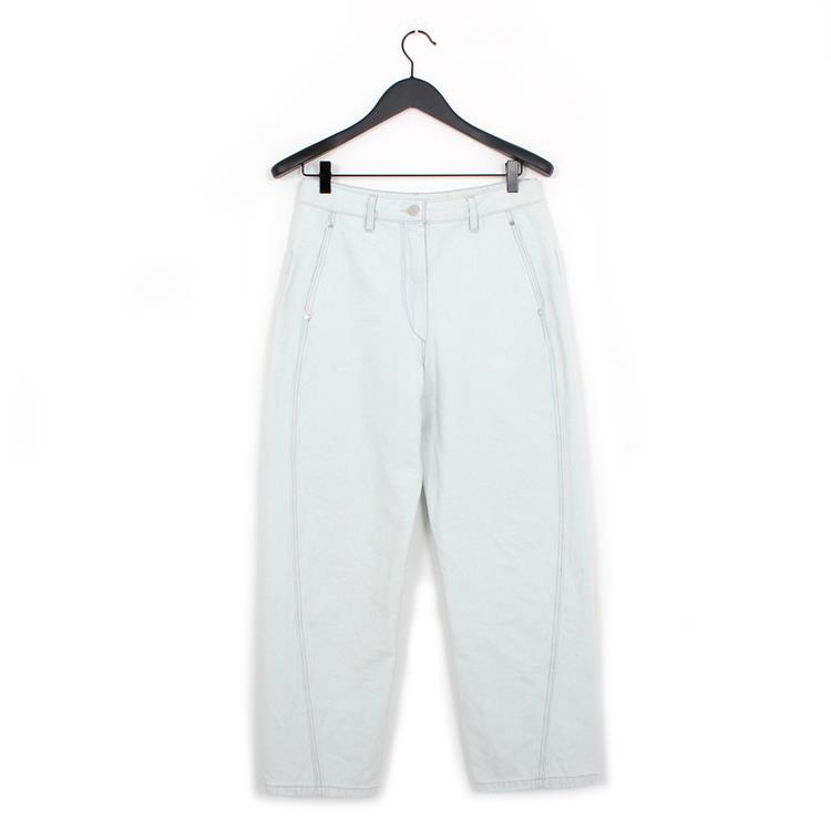 Lemaire twisted pants light blue