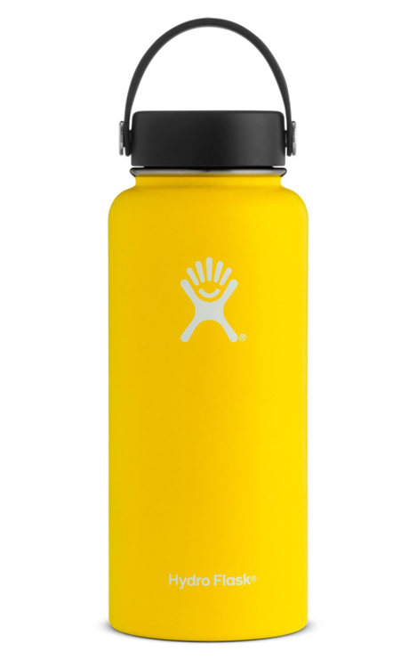 Hydro Flask 32 Oz Wide Mouth Geel Thermosfles