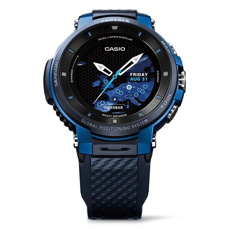 Casio WSD-F30-BUCAE Pro Trek outdoor smartwatch met GPS