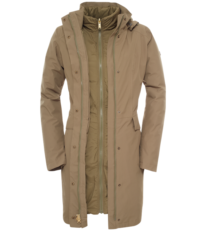 The North Face Suzanne Parka 3 In 1 Jas Dames