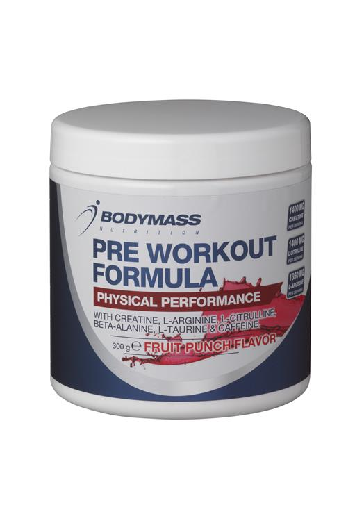 Bodymass Nutrition Pre Workout