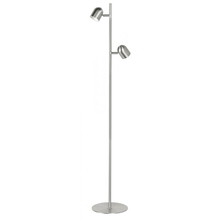 Highlight Ovale vloerlamp LED - mat nikkel