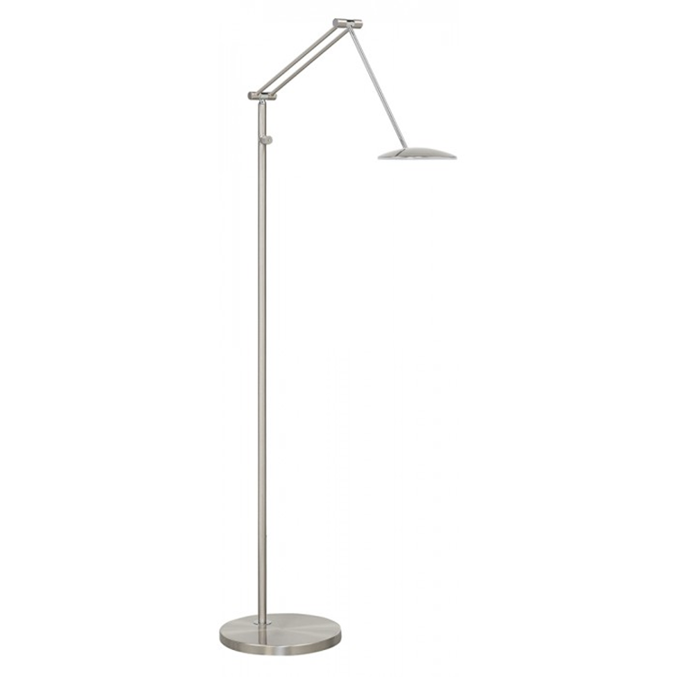Highlight Sapporo vloerlamp LED - mat nikkel