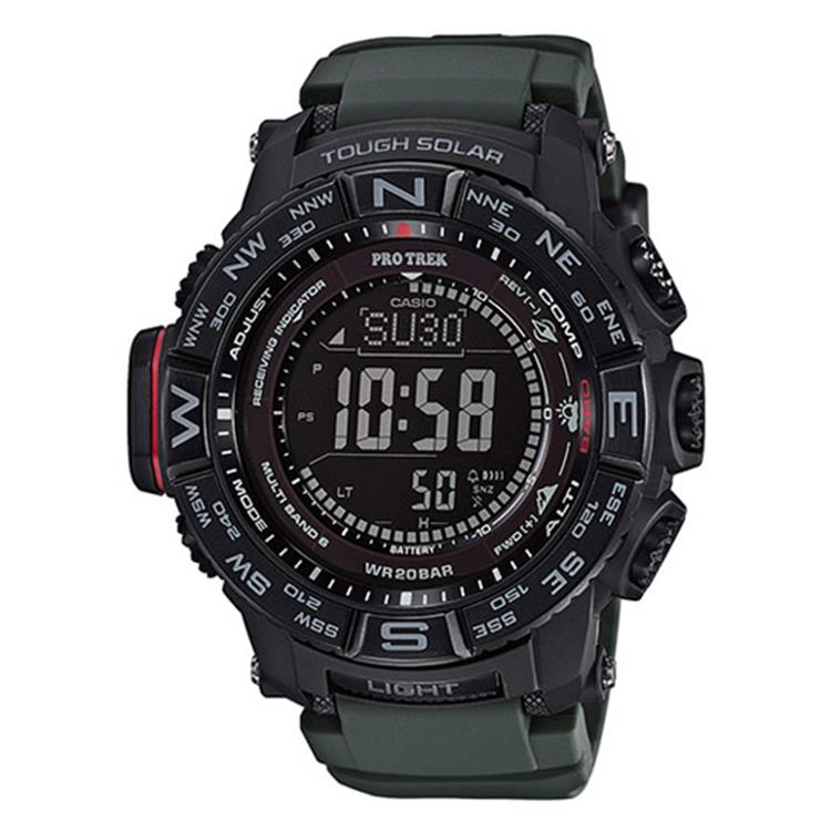 Casio Pro Trek PRW-3510Y-8ER Multi-Band 6
