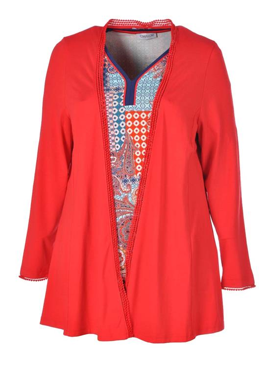 Chalou vest CH 7821 Rood