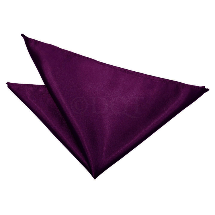 Uni satijnen pochet purple