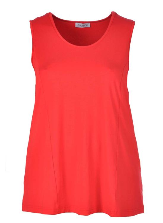Chalou top CH2295 Rood