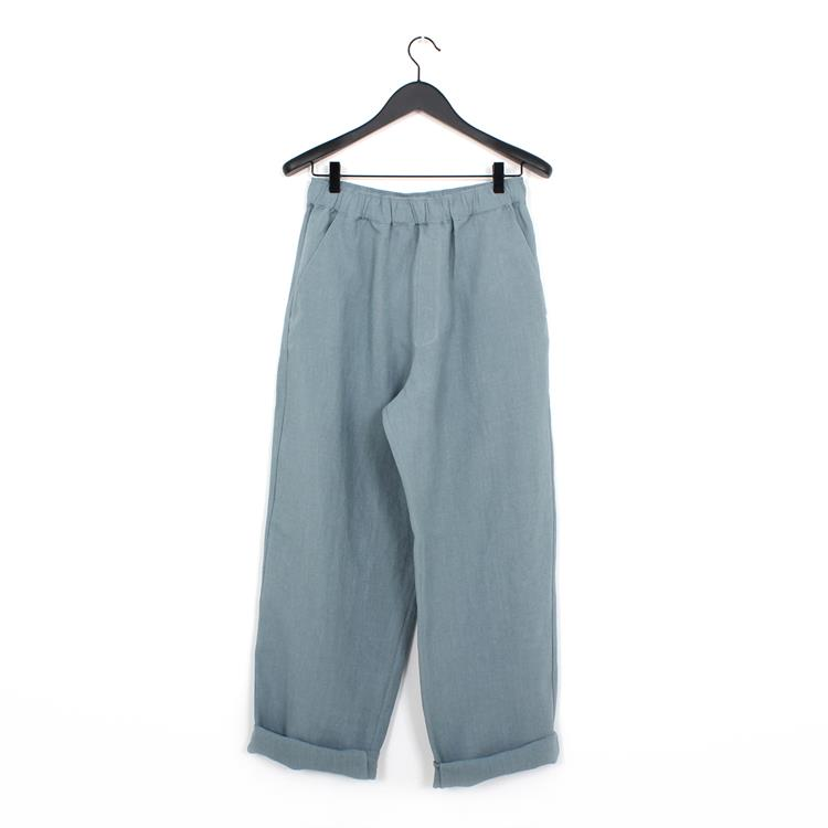 Cristaseya linen pants light blue