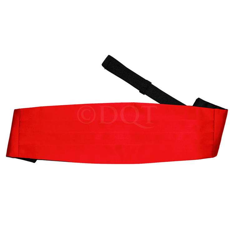 Uni satijnen cumberband red