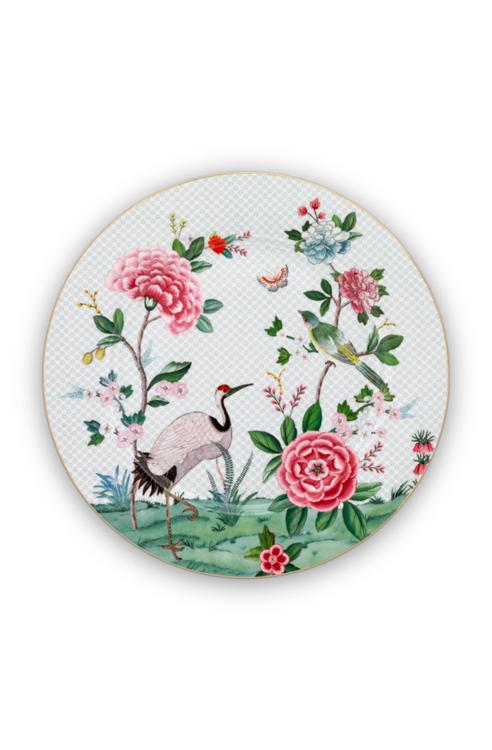 Pip Studio Blushing Birds onderbord Ø 32 cm - wit